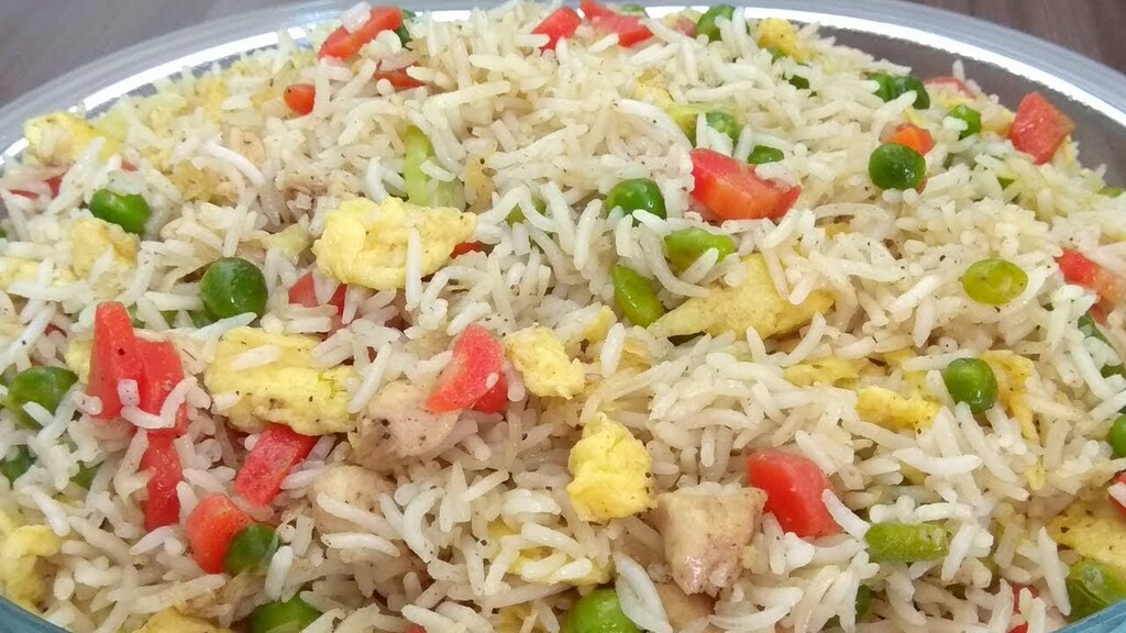 Chinese Vegetable Fried Rice recipe. Source: Special Cooking Recipes