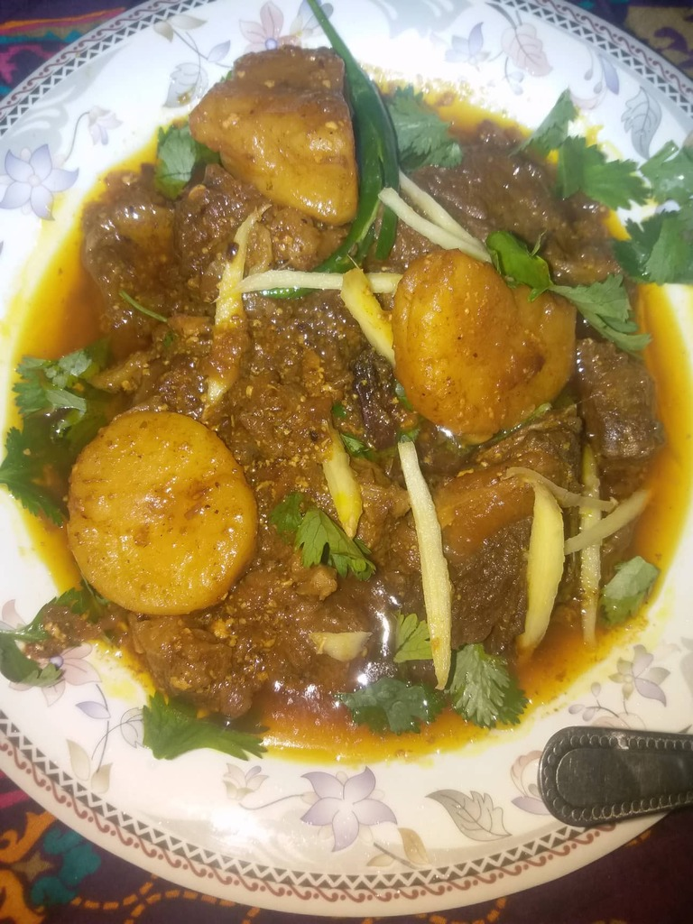 Aloo Gosht Recipe Famous in the Subcontinent Countries
